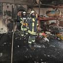 Feuer in Westerländer Weinlager