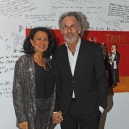Hugo Egon Balder mit Frau Elena